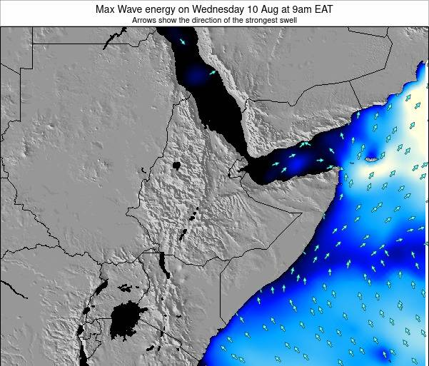 Somalia Max Wave energy on Saturday 22 Jun at 9am EAT