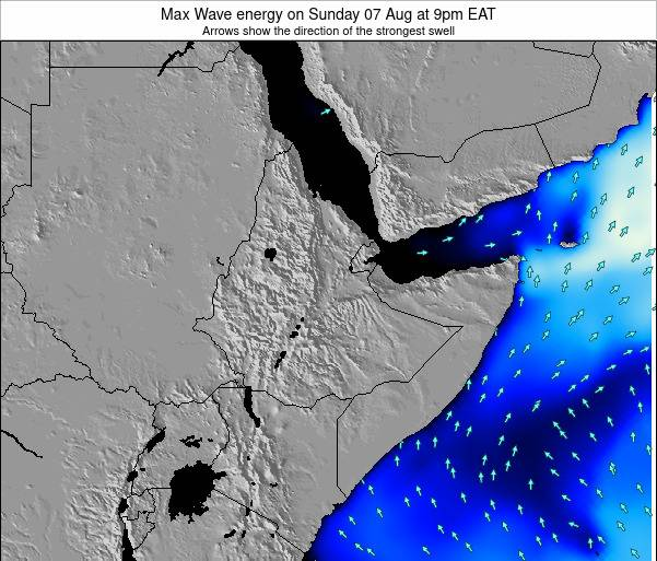 Somalia Max Wave energy on Thursday 06 Aug at 9pm EAT