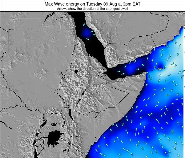 Somalia Max Wave energy on Tuesday 28 May at 3am EAT