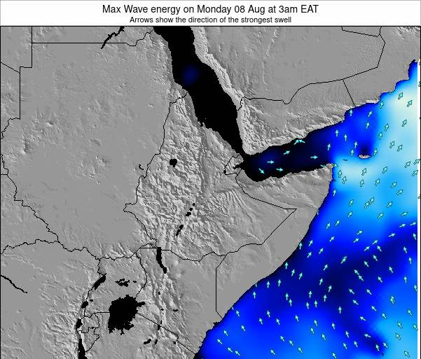 Somalia Max Wave energy on Monday 28 Jul at 3pm EAT