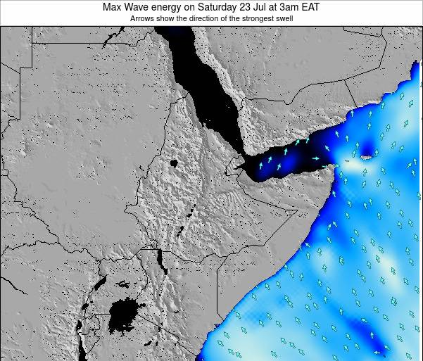 Somalia Max Wave energy on Sunday 26 Oct at 3am EAT