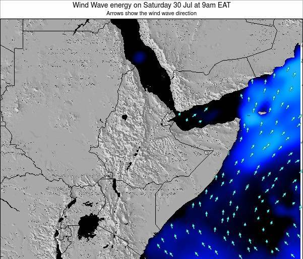 Yemen Wind Wave energy on Friday 31 May at 9am EAT