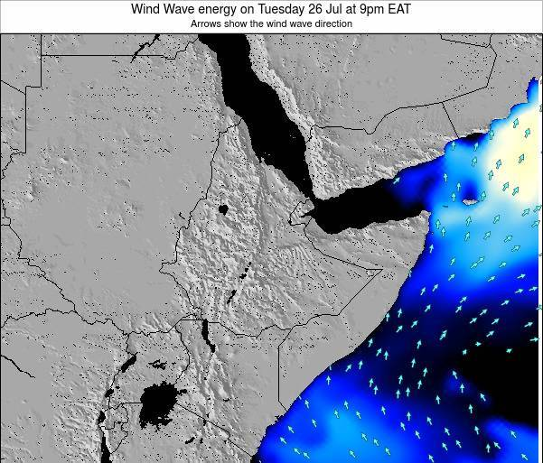 Yemen Wind Wave energy on Friday 13 Dec at 3am EAT