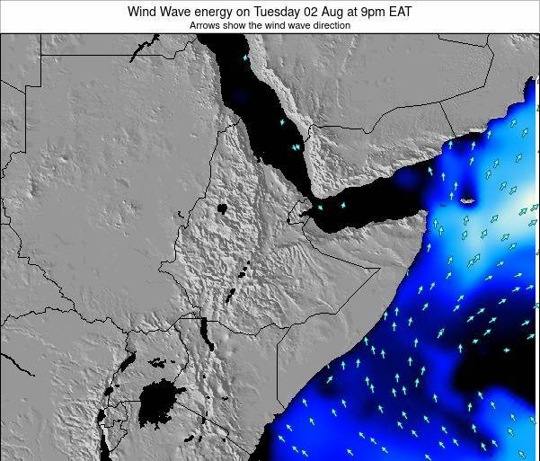 Yemen Wind Wave energy on Sunday 26 Oct at 9pm EAT