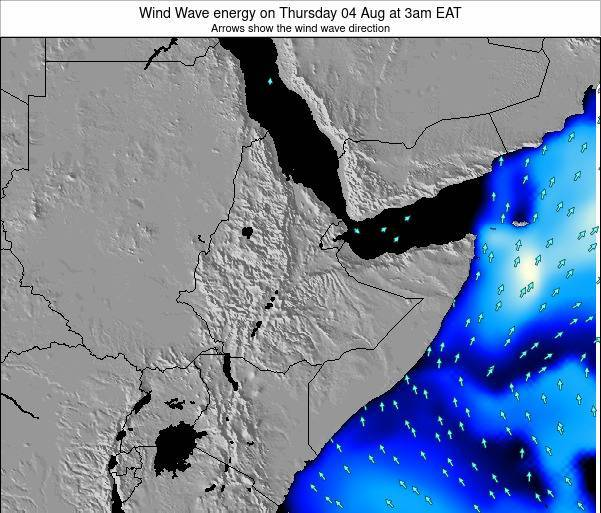 Yemen Wind Wave energy on Friday 01 Aug at 9am EAT