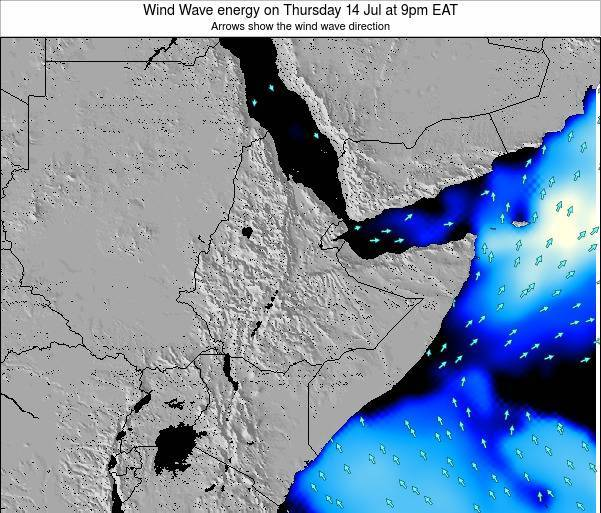 Yemen Wind Wave energy on Thursday 28 Apr at 3pm EAT