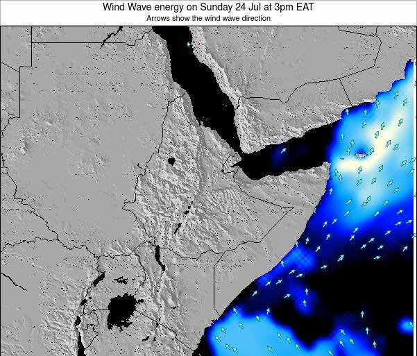 Yemen Wind Wave energy on Monday 21 Apr at 3pm EAT