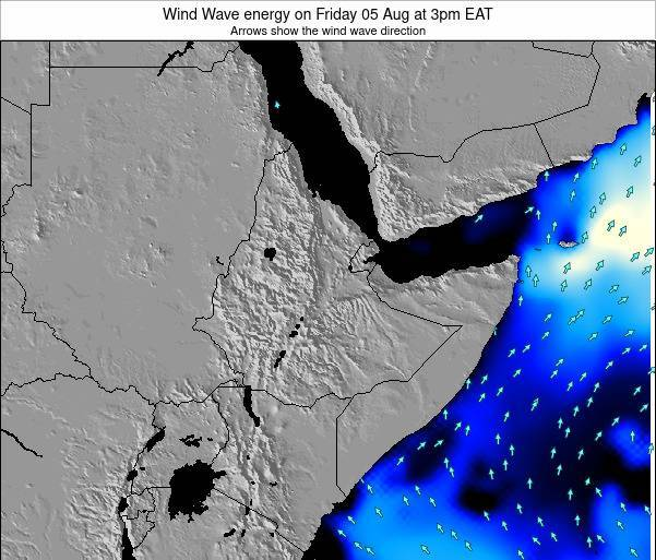 Yemen Wind Wave energy on Sunday 08 Dec at 9pm EAT