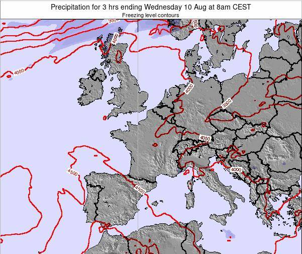Liechtenstein Precipitation for 3 hrs ending Wednesday 29 May at 2am CEST map