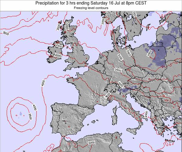 Belgium Precipitation for 3 hrs ending Sunday 26 May at 2am CEST map