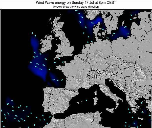 France Wind Wave energy on Thursday 23 May at 2pm CEST