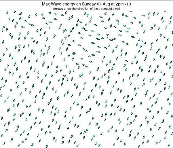 French Polynesia Max Wave energy on Tuesday 28 May at 2pm TAHT