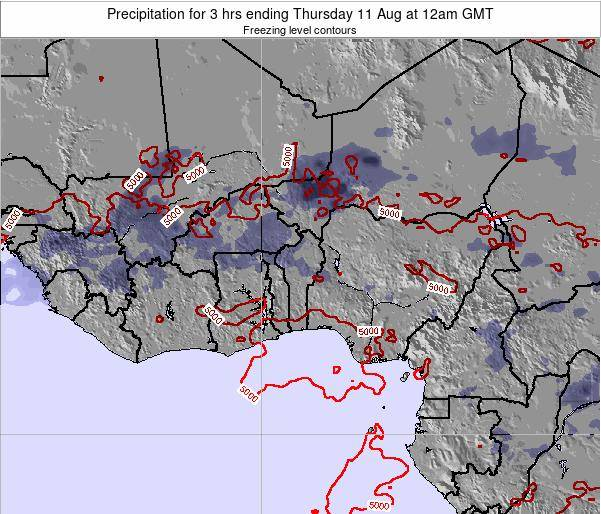 CotedIvoire Precipitation for 3 hrs ending Friday 31 May at 12am GMT