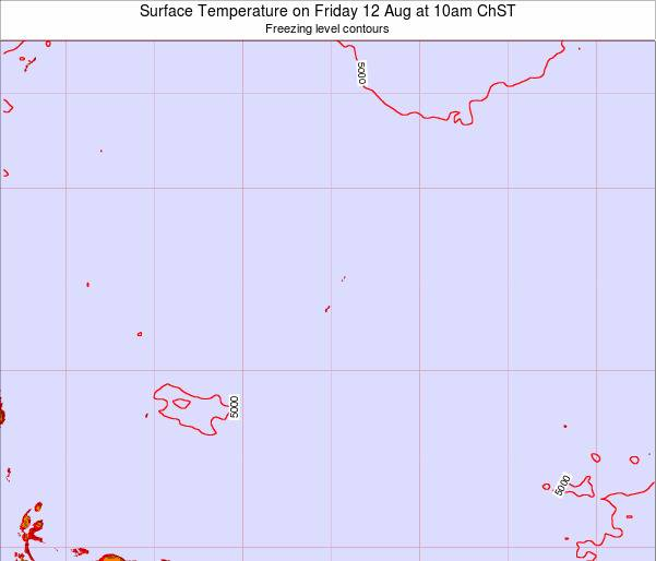 Guam Surface Temperature on Wednesday 30 Jul at 4am ChST