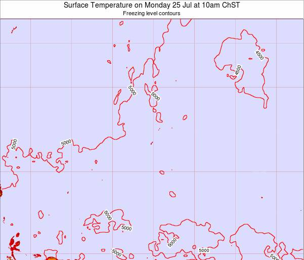 Guam Surface Temperature on Saturday 02 Jul at 4pm ChST