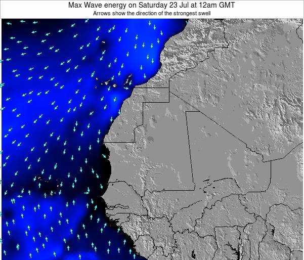 Senegal Max Wave energy on Tuesday 28 May at 12am GMT