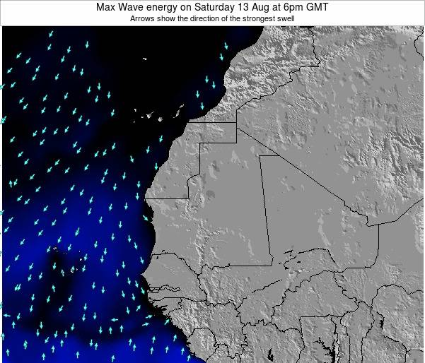 Liberia Max Wave energy on Friday 24 May at 6pm GMT