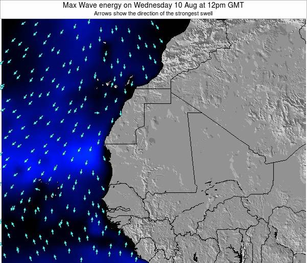 Liberia Max Wave energy on Tuesday 28 May at 6am GMT