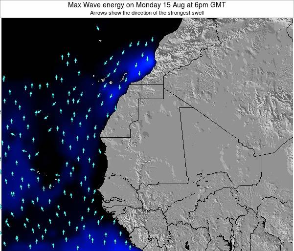 Senegal Max Wave energy on Sunday 02 Jun at 6am GMT