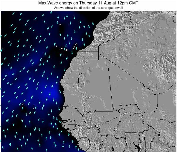 Liberia Max Wave energy on Friday 31 May at 12am GMT
