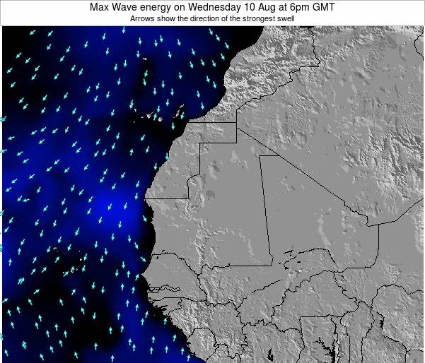 Liberia Max Wave energy on Wednesday 22 May at 12pm GMT