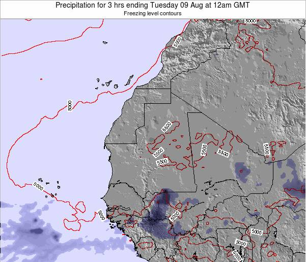 Sierra Leone Precipitation for 3 hrs ending Tuesday 28 May at 6am GMT