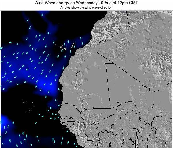 Sierra Leone Wind Wave energy on Tuesday 22 Apr at 6pm GMT
