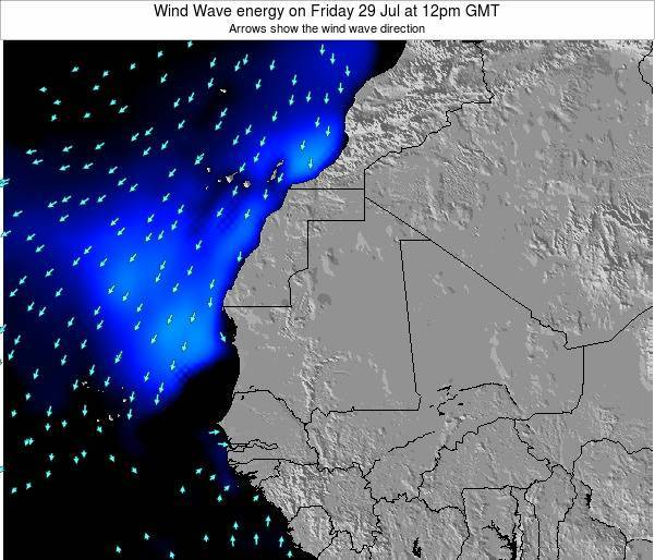 Sierra Leone Wind Wave energy on Tuesday 22 Apr at 12am GMT