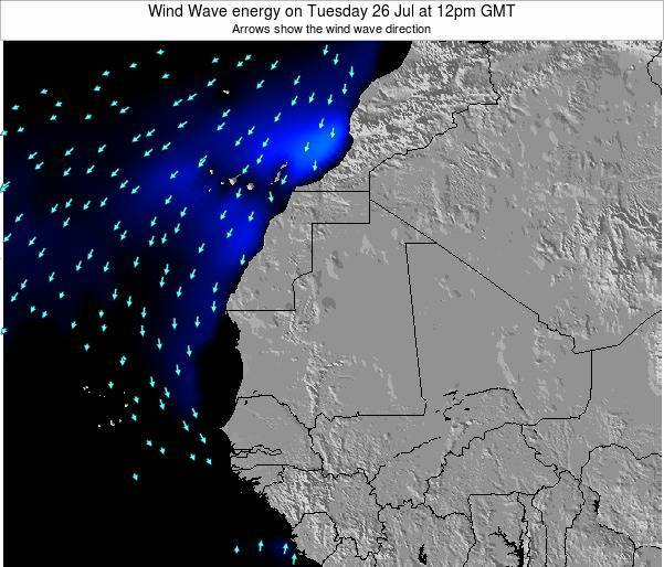 Sierra Leone Wind Wave energy on Friday 30 Sep at 6am GMT