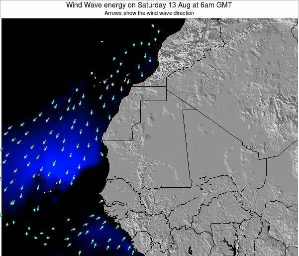 Sierra Leone Wind Wave energy on Saturday 14 Dec at 12pm GMT