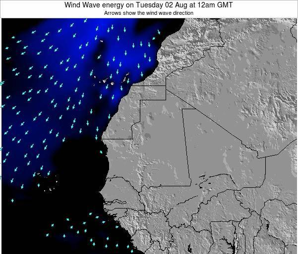 Sierra Leone Wind Wave energy on Sunday 15 Dec at 6am GMT