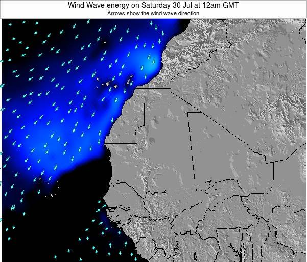 Sierra Leone Wind Wave energy on Tuesday 23 Sep at 6pm GMT