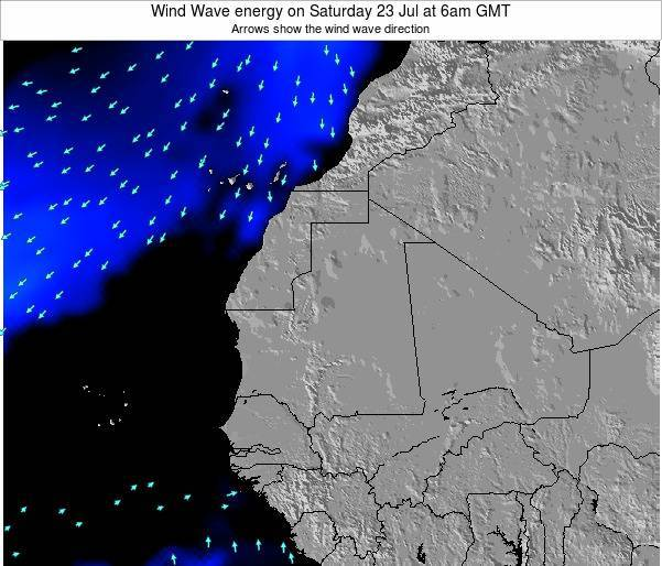 Sierra Leone Wind Wave energy on Wednesday 29 May at 12am GMT