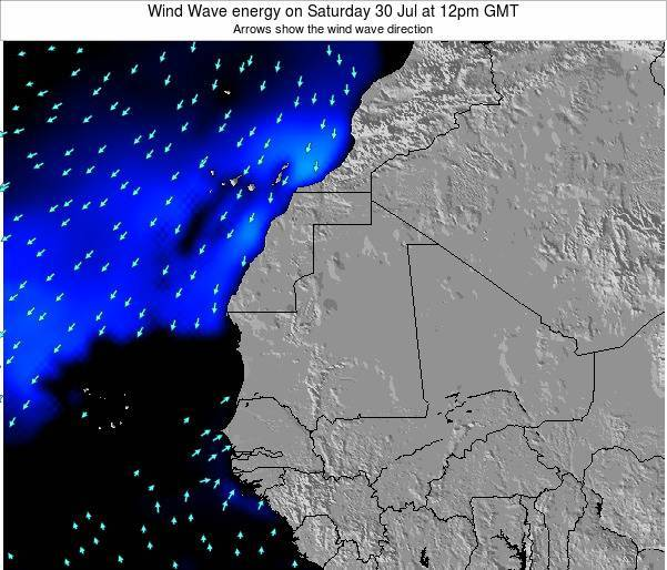 Sierra Leone Wind Wave energy on Wednesday 11 Dec at 6pm GMT