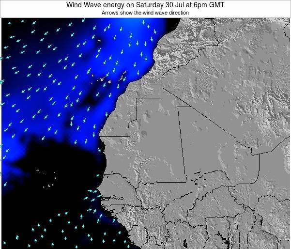 Sierra Leone Wind Wave energy on Monday 05 Sep at 12am GMT