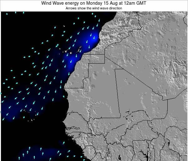 Sierra Leone Wind Wave energy on Thursday 24 Apr at 12am GMT