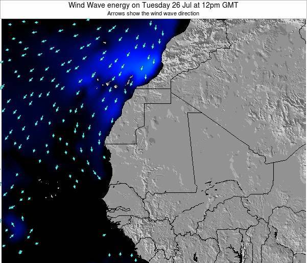 Sierra Leone Wind Wave energy on Wednesday 06 Aug at 12pm GMT