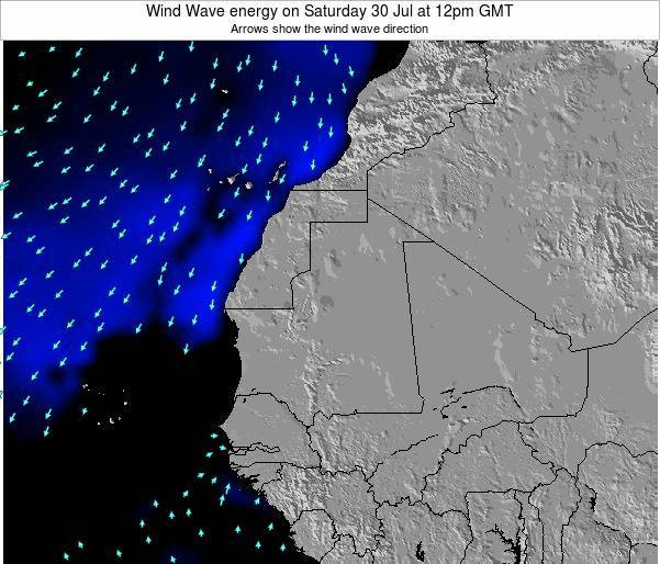 Sierra Leone Wind Wave energy on Sunday 02 Oct at 6am GMT