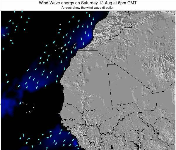 Sierra Leone Wind Wave energy on Wednesday 26 Jun at 12am GMT