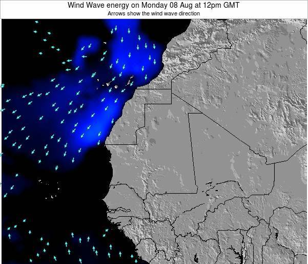 Sierra Leone Wind Wave energy on Friday 25 Apr at 6pm GMT