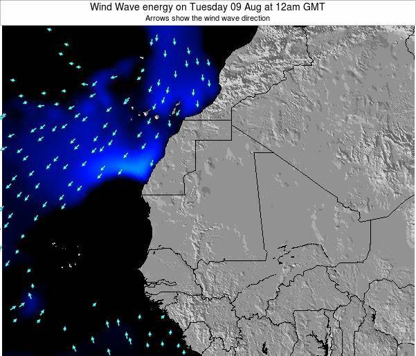 Sierra Leone Wind Wave energy on Thursday 31 Jul at 6pm GMT