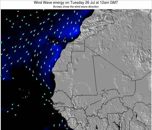 Sierra Leone Wind Wave energy on Saturday 26 Jul at 12am GMT