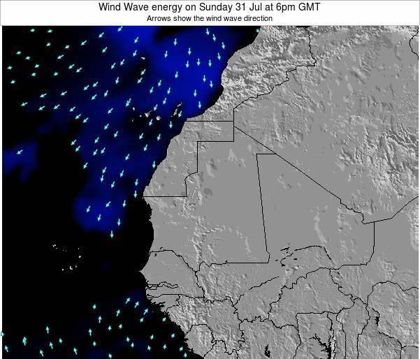 Sierra Leone Wind Wave energy on Thursday 17 Apr at 6am GMT