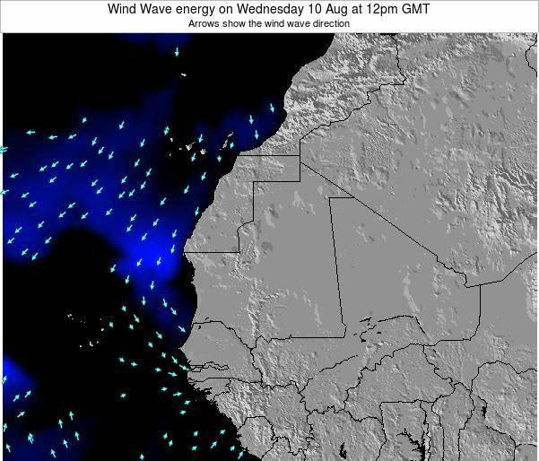 Sierra Leone Wind Wave energy on Thursday 02 Oct at 6pm GMT