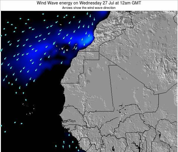 Sierra Leone Wind Wave energy on Friday 13 Dec at 12am GMT