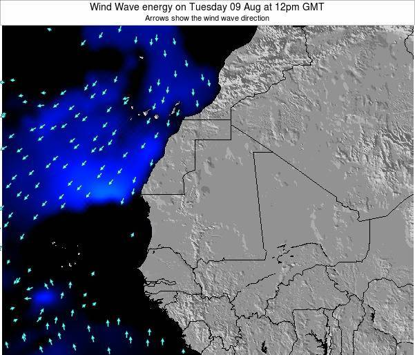 Sierra Leone Wind Wave energy on Friday 04 Dec at 12am GMT