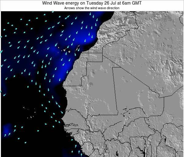 Sierra Leone Wind Wave energy on Saturday 26 Apr at 12pm GMT