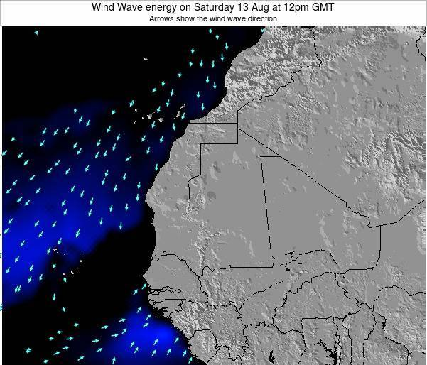 Sierra Leone Wind Wave energy on Saturday 19 Apr at 12pm GMT