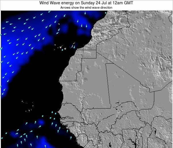 Sierra Leone Wind Wave energy on Tuesday 11 Mar at 12am GMT