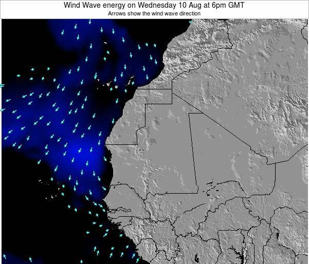 Sierra Leone Wind Wave energy on Wednesday 10 Feb at 12am GMT
